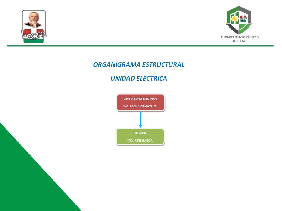 ORGANIGRAMA ELECTRICO